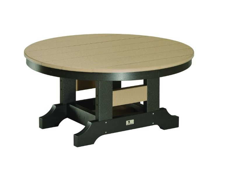 "38"" Round Conversation Table (Natural Finish)"