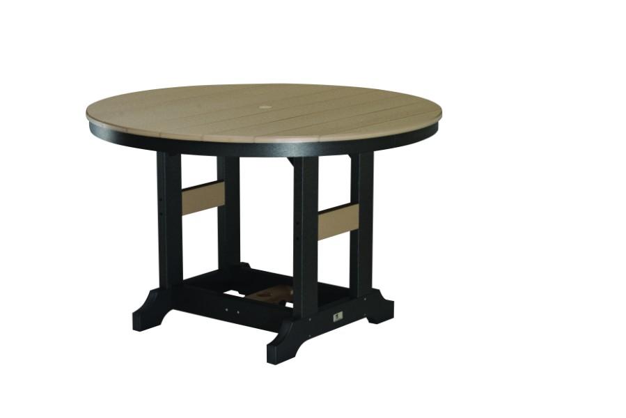 Berlin Gardens Garden Classic Round Bar Table Natural Finish - Cheap round bar table
