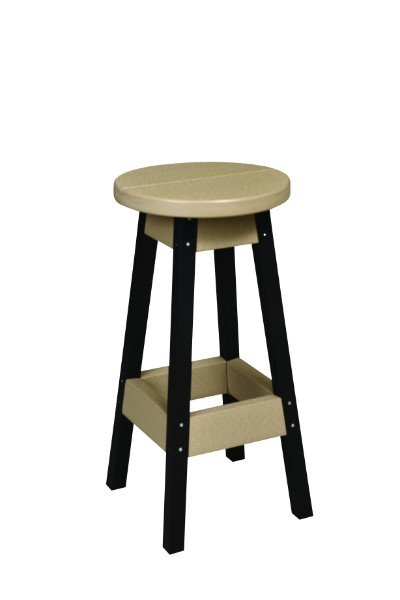 Bar Stool (Natural Finish)