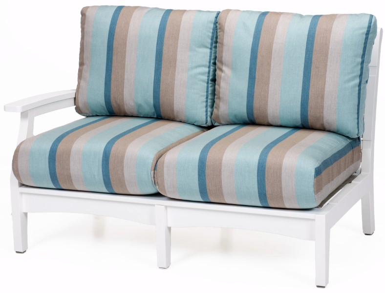 Classic Terrace Right Arm Sectional Loveseat (Fabric Group A)