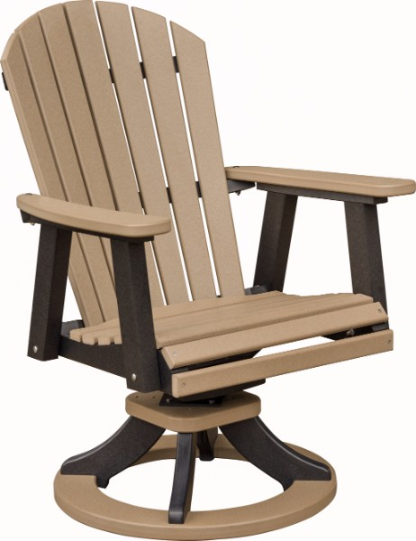 Comfo-Back Swivel Rocker Dining Height Chair